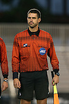 05 October 2015: Assistant Referee Kevin Uitto. The Duke University Blue Devils hosted the Hofstra University Pride at Koskinen Stadium in Durham, NC in a 2015 NCAA Division I Men's Soccer match. Duke won the game 3-2 in overtime.