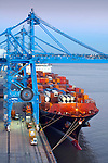 Louisiana, New Orleans, Port Of New Orleans, Mississippi River
