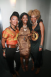 Helene of Les Nubians, Alia Jones  and Celia of Les Nubians Attend Tennessee Williams A Streetcar Named Desire Opening Night Party Held at the Copacabana, NY  4/22/12