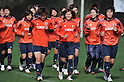 Japan team group (JPN), MARCH 3, 2012 - Football / Soccer : Japan team training during the Algarve Women's Football Cup 2012, at Browns Sports & Leisure Club.  .(Photo by Atsushi Tomura/AFLO SPORT) [1035]