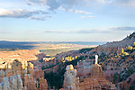 A summer storm rolls over the Fairyland in Bryce Canyon and Grand Staircase-Escalante Utah.