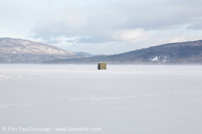 Ice fishing newfound lake new hampshire scenicnh for Ice fishing nh
