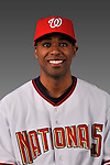 14 March 2008: ..Portrait of Jemel Spearman, Washington Nationals Minor League player at Spring Training Camp 2008..Mandatory Photo Credit: Ed Wolfstein Photo