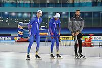 Thialf training 051116<br /> Eeerste training in het vernieuwde Thialf<br /> &copy;foto Martin de Jong SCHAATSEN: 2016, Nederlandse topschaatsers, &copy;foto Martin de Jong
