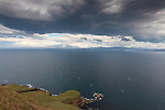 Storm Clouds over Isle of Skye (North of Storr Looking to Rona and Loch Torridon), Scotland