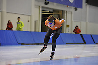 SPEED SKATING: SALT LAKE CITY: 18-11-2015, Utah Olympic Oval, ISU World Cup, training, Antoinette de Jong (NED), ©foto Martin de Jong