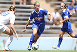 26 August 2012: Florida's Annie Speese. The University of Florida Gators defeated the Duke University Blue Devils 3-2 in overtime at Fetzer Field in Chapel Hill, North Carolina in a 2012 NCAA Division I Women's Soccer game.