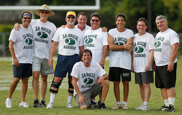 LaSalle High School Alumni football game 2011.