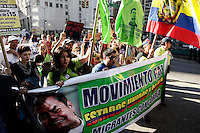 New York City, United States. 01th May 2014 -- People attended the International May Day demonstrations . VIEWpress/Kena Betancur