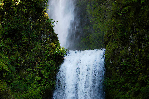 Multnomah Falls In Motion