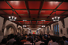 Latin Mass in Alumni Hall chapel..Photo by Matt Cashore..