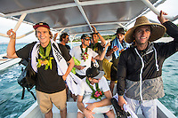 Namotu Island Resort, Nadi, Fiji (Saturday, June 4 2016): The  2016 Fiji  Pro Opening Ceremony was held to day on Tavarua Island with a tradition kava ceremony to welcome all the surfers. Kelly Slater dedicated this event to the memory of Chief Druku who passed away late last year. Photo: joliphotos.com
