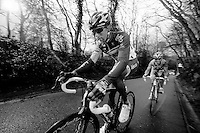 Brabantse Pijl 2012.Leuven-Overijse: 195,7km..Dennis Vanendert