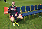 St Johnstone FC photocall Season 2016-17<br />Alan Mannus before the photocall<br />Picture by Graeme Hart.<br />Copyright Perthshire Picture Agency<br />Tel: 01738 623350  Mobile: 07990 594431