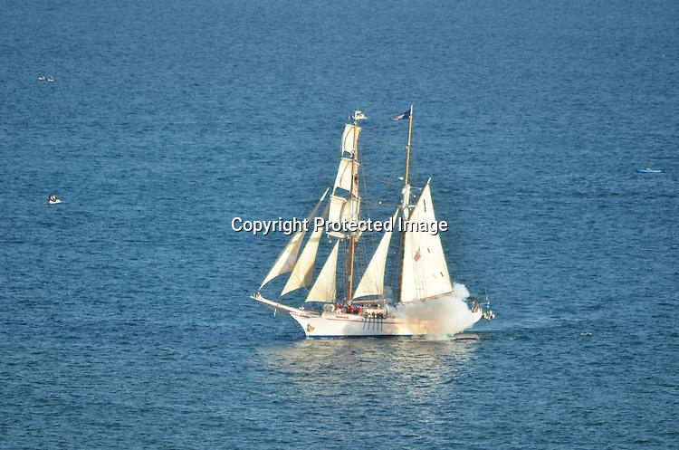 Stock photos of a schooner