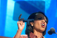 TAMPA, FL - August 29, 2012: Former Secretary of Defense Condoleezza Rice at the 2012 Republican National Convention.