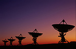 The Very Large Array Radiotelescopes listen to space, near Socorro, New Mexico