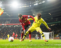 Fussball Bundesliga 2012/13: Leverkusen - Dortmund