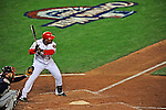 30 March 2008: Washington Nationals' infielder Ronnie Belliard in action against the Atlanta Braves inaugurating Nationals Park in Washington, DC. The Nationals defeated the Braves 3-2 to open the season, and christen the new state-of-the-art ballpark to a sellout crowd of 39,389...Mandatory Photo Credit: Ed Wolfstein Photo