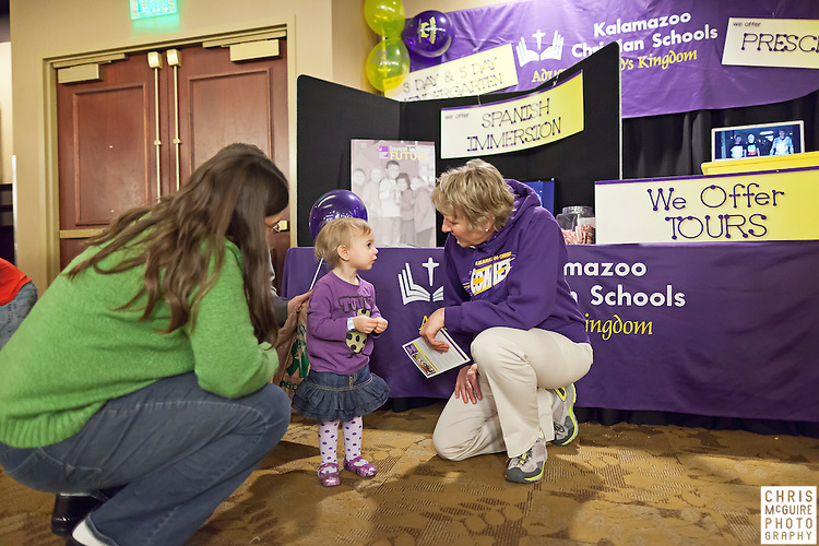 02/12/12 - Kalamazoo, MI: Kalamazoo Baby & Family Expo.  Photo by Chris McGuire.  R#35
