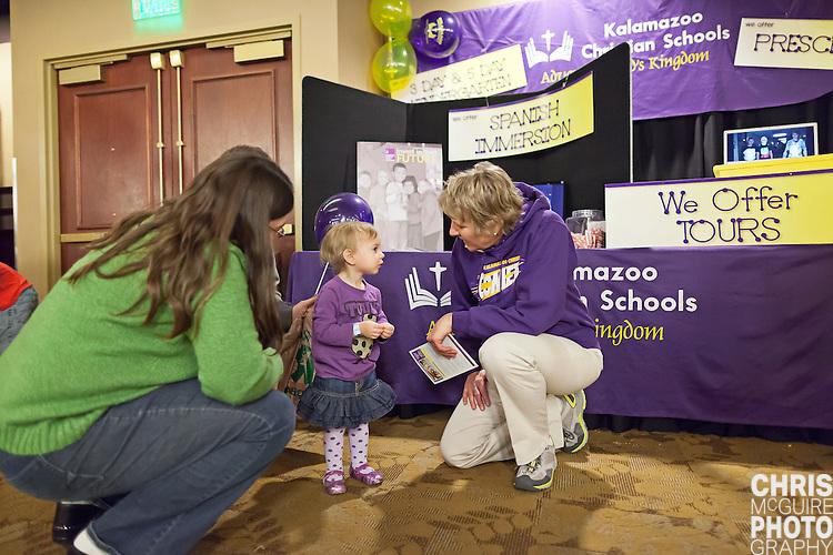 02/12/12 - Kalamazoo, MI: Kalamazoo Baby & Family Expo.  Photo by Chris McGuire.  R#35