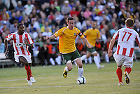 Jack Traynor...AC St Louis were defeated 1-2 by Austin Aztek in their inaugural home game in front of 5,695 fans at Anheuser-Busch Soccer Park, Fenton, Missouri.
