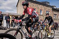 Bart De Clercq (BEL/Lotto-Soudal) in the leading group up C&ocirc;te de Saint-Roch in  Houffalize<br /> <br /> 103rd Li&egrave;ge-Bastogne-Li&egrave;ge 2017 (1.UWT)<br /> One Day Race: Li&egrave;ge &rsaquo; Ans (258km)