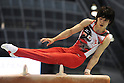Kohei Uchimura (JPN),JULY 3rd, 2011 - Artistic Gymnastics :Japan Cup 2011 Men's Individual All-Around Pommel Horse at Tokyo Metropolitan Gymnasium in Tokyo, Japan. (Photo by AZUL/AFLO)