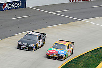 30 March - 1 April, 2012, Martinsville, Virginia USA.Kyle Busch, M&M's Toyota Camry, Brendan Gaughan.(c)2012, Scott LePage.LAT Photo USA