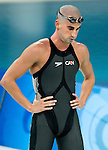 Benoit Huot won the bronze at the 100 m freestyle.<br /> - Photo Benoit Pelosse-CPC