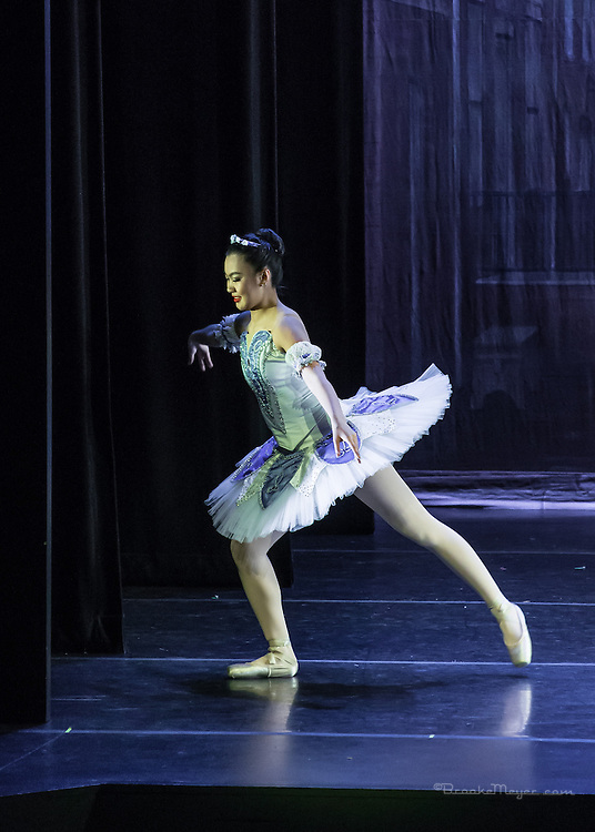 """Matinee Performance of """"Coppelia"""", the Spring Gala production of Cary Ballet Company. Cary Arts Center, Saturday, 14 March 2015"""