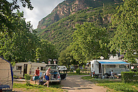 Bolzano, South Tyrol, June 2007. Camping Moosbauer.  South Tyrol used to be part of Austria until it became part of Italy after WWI. Photo by Frits Meyst/Adenture4ever.com