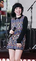 AUG 21 Carly Rae Jepsen on NBC's Today Show Toyota Concert Series