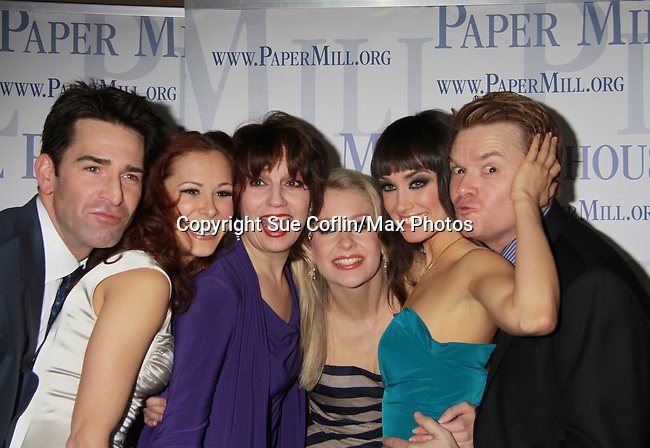 After Party on Opening Night of Boeing-Boeing starring One Life To Live Matt Walton (Benard) & Heather Parcells & Beth Leavel & Anne Horak & Brynn O'Malley & John Scherer on January 22, 2012 at the Paper Mill Playhouse, Millburn, New Jersey. (Photo by Sue Coflin/Max Photos)