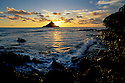 'Alau Island at sunrise; Hana Coast, Maui, Hawaii.