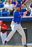 10 March 2012: New York Mets outfielder Adam Loewen in action during a Spring Training game against the Washington Nationals at Space Coast Stadium in Viera, Florida. The Nationals defeated the Mets 8-2 in Grapefruit League play. Mandatory Credit: Ed Wolfstein Photo