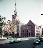 St. Boniface Church, Exterior - 1950's