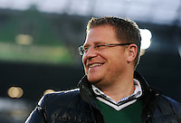 FUSSBALL   1. BUNDESLIGA    SAISON 2012/2013    9. Spieltag   Hannover 96 - Borussia Moenchengladbach         28.10.2012 Gladbachs Sportdirektor Max Eberl