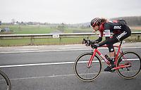 snackin' Daniel Oss (ITA/BMC) <br /> <br /> 69th Kuurne-Brussel-Kuurne 2017 (1.HC)