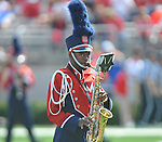 The Ole Miss band plays its pregame show at Vaught-Hemingway Stadium in Oxford, Miss. on Saturday, September 24, 2011. Georgia won 27-13.