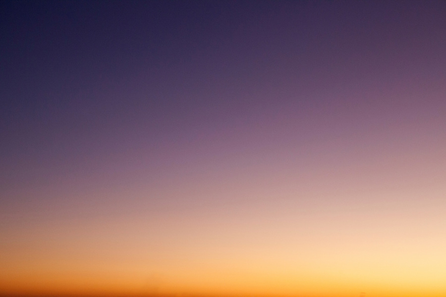 Abstract color background from sunset in Everglades National Park, Florida, USA