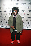 The Roots' Ahmir ?uestlove Thompson Attends the Grand Re-Opening of Jay-Z's 40/40 Club, NY   1/18/12