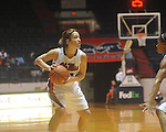 Ole Miss' Maggie McFerrin (14) vs. Mississippi Valley State in women's college basketball action in Oxford, Miss. on Wednesday, December 15, 2010.