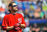 4 March 2011: Washington Nationals outfielder Jayson Werth in action during Spring Training action against the Atlanta Braves at Space Coast Stadium in Viera, Florida. The Braves defeated the Nationals 6-4 in Grapefruit League action. Mandatory Credit: Ed Wolfstein Photo
