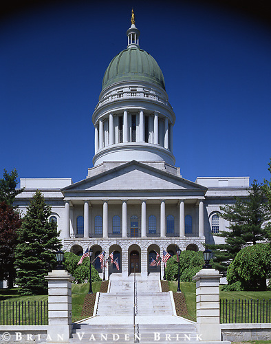Rick Burt Architect.Maine State House Renovations.Augusta, Me.