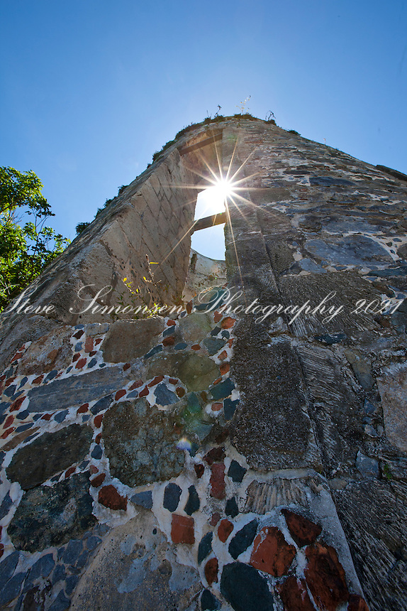 Annaberg sugar plantation ruins <br /> Virgin Islands National Park <br /> St. John, US Virgin Islands