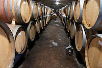 barrel aging cellar domaine parent pommard cote de beaune burgundy france