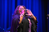 February 26, 2013  (Washington, DC)  Acclaimed singer Maysa sings a tribute to Stevie Wonder at the historic Howard Theatre in D.C. (Photo by Don Baxter/Media Images International)
