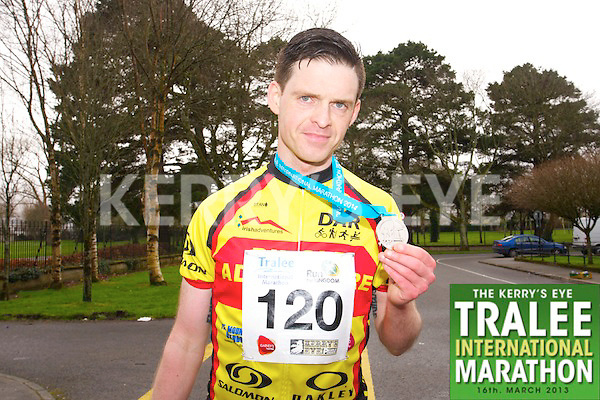 Tom Foley 120, who took part in the Kerry's Eye Tralee International Marathon on Sunday 16th March 2014.