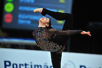 Bilyana Prodanova of Bulgaria performs at 2011 World Cup at Portimao, Portugal on April 29, 2011.  .